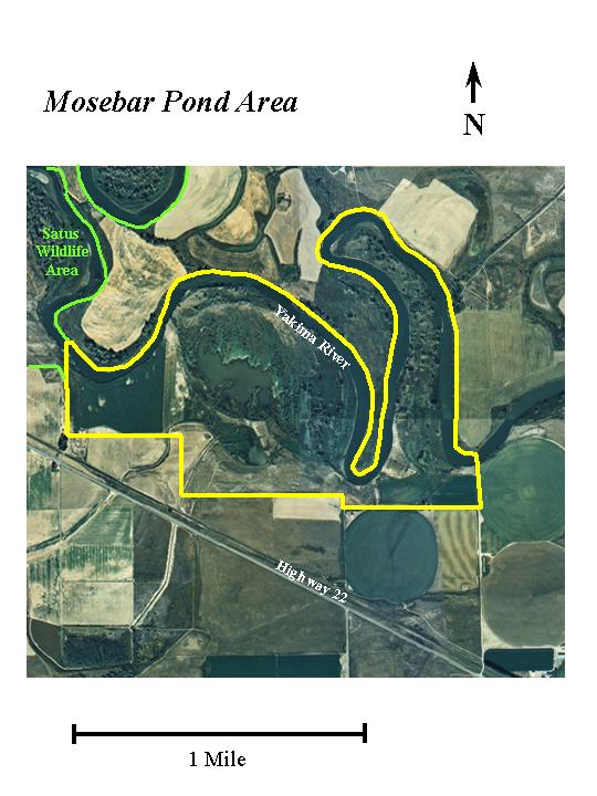 Mosebar Pond Area Aerial Map, Click To Enlarge