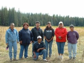 Spotted Owl Crew of 2004, picture by G. King