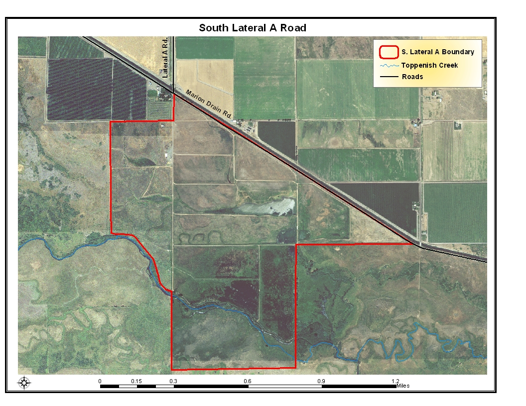 South Lateral A Area Aerial Map, Click To Enlarge