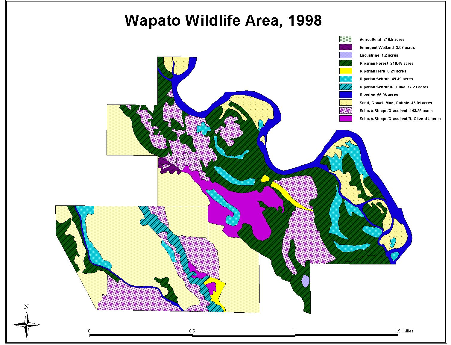 Wapato wildlife area